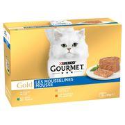 Gourmet Gold Kattenvoer Fijne Mousse 12 x 85 g