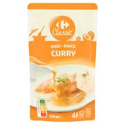Carrefour Classic' Saus Curry 220 ml