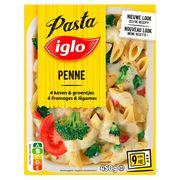 Iglo Penne 4 Fromages aux Petits Légumes 450 g
