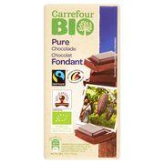 Carrefour Bio Chocolat Fondant 100 g