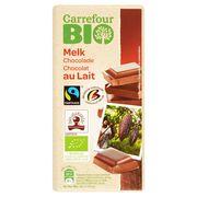 Carrefour Bio Chocolat au Lait 100 g