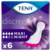 Tena Discreet Maxi Night 6 Nachtverbanden