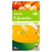 Carrefour Velouté 8 Groenten 1 L
