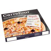 Carrefour Pizza op Steen Gebakken Royale 400 g