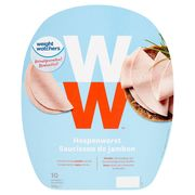 Weight Watchers Saucisson de Jambon 10 Tranches 120 g