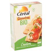 Céréal Glutenfree Bio Crackers Rijst & Kastanje 6 x 7 Stuks 250 g