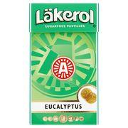 Läkerol Sugarfree Pastilles Eucalyptus 27 g