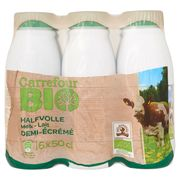 Carrefour Bio Halfvolle Melk 6 x 50 cl