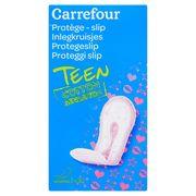 Carrefour Inlegkruisjes Teen Cotton Sensation Normal 30 Stuks