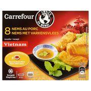 Carrefour Envies du Monde 8 Nems au Porc 240 g