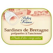 Reflets de France Sardines de Bretagne Préparées à l'Ancienne 115 g