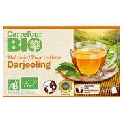 Carrefour Bio Thé Noir Darjeeling 20 Pièces 32 g