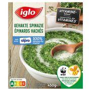 Iglo Gehakte Spinazie met Alpro 450 g