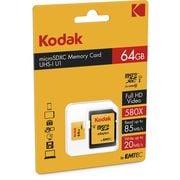 Kodak Geheugenkaart micro SDXC 64GB + adapter (KDK43600)