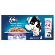 FELIX Kattenvoeding Malse Reepjes Mix Selectie 44 x 100 g
