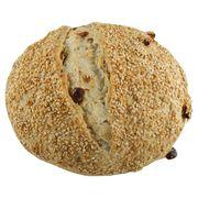 Carrefour Bio Brood met Sesamzaad en Rozijnen 450 g