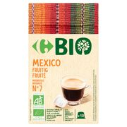 Carrefour Bio Mexico Fruitig 10 Stuks 52 g