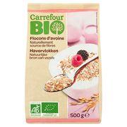 Carrefour Bio Havervlokken 500 g