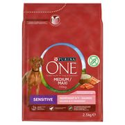 PURINA ONE Hondenvoer Medium / Maxi >10 kg Sensitive 2.5 kg