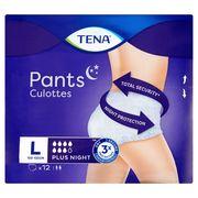 Tena Pants Culottes Plus Night L 12 Stuks
