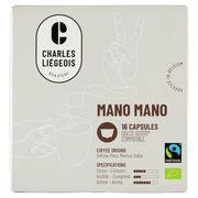 Café Liégeois Mano Mano 16 Capsules 120 g