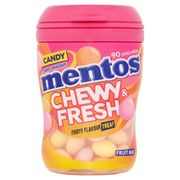 Mentos Chewy & Fresh Fruit Mix 90 Stuks 99 g
