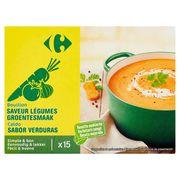 Carrefour Bouillon Saveur Légumes 15 x 10 g