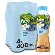 Fuze Tea Green Tea Blueberry Jasmine Limited Edition 4 x 400 ml