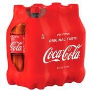 Coca-Cola 6 x 1 L