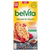 LU BelVita Framboises et Graines de Chia 6 x 45 g
