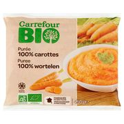 Carrefour Bio Puree 100% Wortelen 450 g