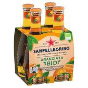 SANPELLEGRINO® Aranciata Bio 4 x 0.20 L
