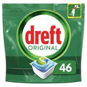 Dreft Original All In One Regular Capsules Lave-Vaisselle, 46Capsules