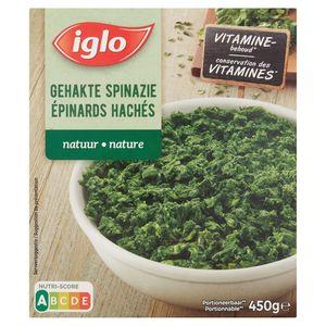 Iglo Fijngehakte Natuur Spinazie 450 g