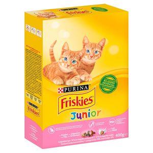 FRISKIES Kattenvoer Junior Kip Melk en Groenten 400 g
