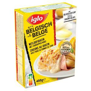 Iglo Witloofgratin met Aardappelpuree 450 g
