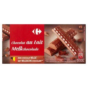 Carrefour Chocolat au Lait 2 x 200 g