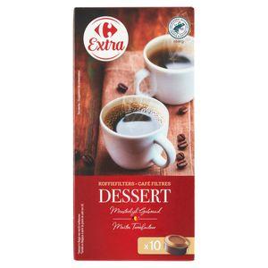 Carrefour Café Filtres Dessert Généreux 10 Pièces 75 g