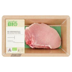 Carrefour Bio Côtelettes Porc 0.143 kg