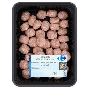 Carrefour Petites Boulettes pour Soupe 0.240 kg