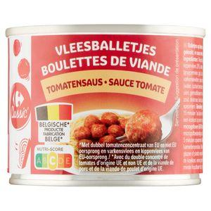 Carrefour Boulettes de Viande Sauce Tomate 200 g