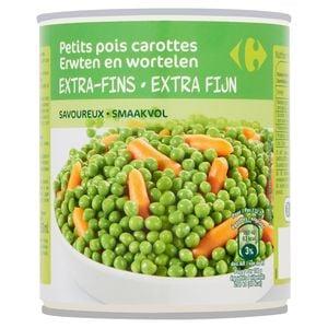 Carrefour Petits Pois Carottes Extra-Fins 800 g