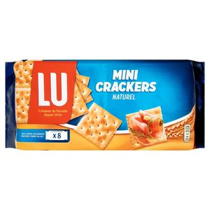 LU Mini Crackers Naturel 8 Flowpacks 250 g