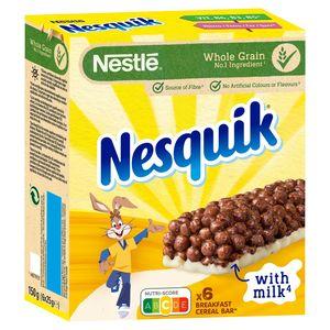Graanrepen NESQUIK Chocoladesmaak 6 x 25 g