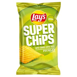 Lay's Superchips Pickles 200 gr