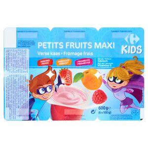 Carrefour Kids Petits Fruits Maxi Fromage Frais 6 x 100 g