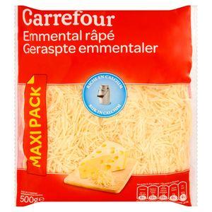 Carrefour Geraspte Emmentaler Maxi Pack 500 g