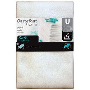 Carrefour Home Molleton Repassage 140x50 cm Soft Accessoires U taille