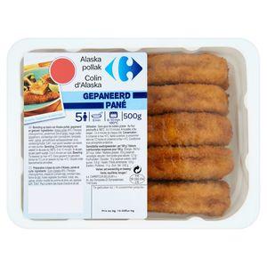 Carrefour Filet Pané Alaska Pollack