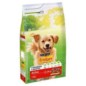 FRISKIES Active Hondenvoer Rund 4 kg